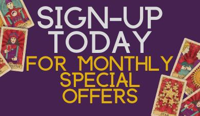 Sign Up Special Offers Carousel